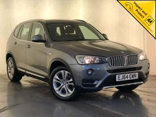 BMW X3 2.0 20d xLine xDrive 5dr 1 OWNER SERVICE HISTORY 2014, 143670 miles, £11500