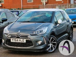 Citroen DS3 1.6 BlueHDi DSire+ 3dr Hatchback 2014, 27519 miles, £6999
