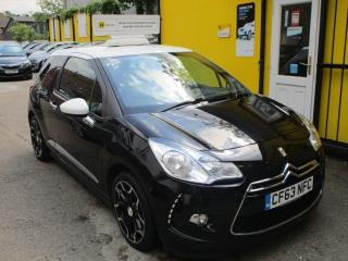 Citroen DS3 1.6 e HDi Airdream DStyle Plus 3dr Bluetooth Alloys FSH Hatchback 2014, 55893 miles, £4890
