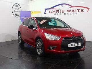 2014 Citroen DS4 E HDI AIRDREAM DSTYLE Diesel red Manual