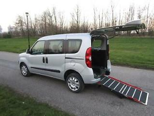 2014 Fiat Doblo 1.6 Multijet 4 SEATS Wheelchair Accessible Disabled Vehicle WAV