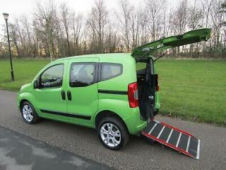 2014 Fiat Qubo 1.3 Multijet WHEELCHAIR ACCESSIBLE ADAPTED DISABLED VEHICLE WAV