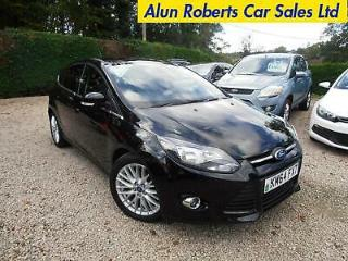 2014 Ford Focus 1.6TDCi 115ps s/s Zetec Navigator Turbo Diesel 5door
