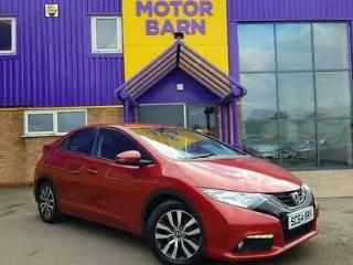 2014 Honda Civic 1.6 i DTEC SE Plus 5dr dab, premium audio