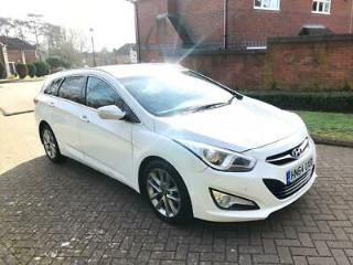 2014 Hyundai i40 Style 1.7 CRDi Automatic Estate White Sat Nav 1 Previous Owner