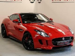 2014 Jaguar F TYPE 5.0 Supercharged V8 R 2dr Auto Petrol red Automatic