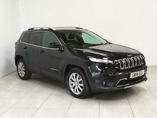 2014 Jeep Cherokee 2.0 CRD Limited Auto 4WD s/s 5dr