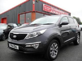 2014 Kia Sportage 2.0 CRDi AWD KX 2 5dr 1 OWNER FROM NEW FULL SERVICE HIS