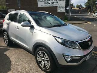 2014 KIA SPORTAGE 2.0 CRDI KX 3, 50,000 MILES FROM NEW WITH FULL SERVICE HISTORY
