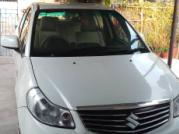 White 2014 Maruti Suzuki SX4 VDi 70000 kms driven in Pcc Road
