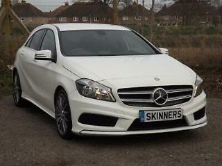 2014 Mercedes Benz A Class 200 Amg sport 2.1 Cdi Diesel white Manual