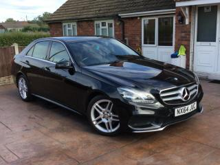 2014 MERCEDES BENZ E CLASS 2.1 HYBRID/DIESEL AUTOMATIC E300 4DR SALOON AMG SPORT