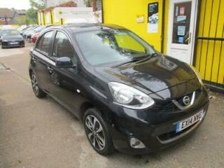 2014 Nissan Micra 1.2 Tekna 5dr £30 Road Tax Sat Nav Bluetooth 5 door Hatchb