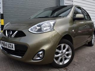 Nissan Micra 1.2 ACENTA 5d 1 OWNER 30 ROAD TAX BLUETOOTH CRUISE CONTROL SATNAV ALLOY WHEELS AIR CONDITIONING Hatchback 2014, 27000 miles, £6150