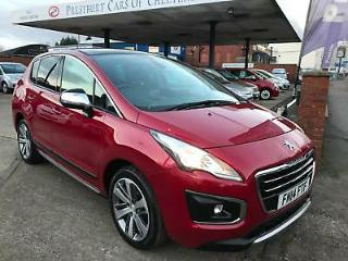2014 Peugeot 3008 Crossover 1.6HDi 115bhp FAP Allure.Ruby Red.39000 rm