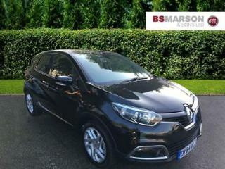 2014 Renault Captur DYNAMIQUE MEDIANAV ENERGY DCI S/S Diesel black Manual