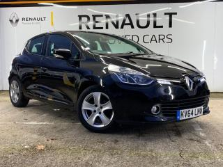 Renault Clio 1.5 dCi ENERGY Dynamique MediaNav Hatchback 5dr Diesel Manual s/s 90 g/km, 90 bhp Approved with 2014, 50698 miles, £6000