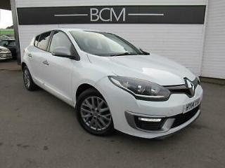 2014 Renault Megane 1.5 dCi Knight Edition s/s 5dr Diesel white Manual