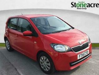 2014 SKODA Citigo 1.0 MPI GreenTech SE Hatchback 5dr Petrol Manual