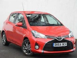 2014 Toyota Yaris 1.33 VVT i Excel Petrol red Manual