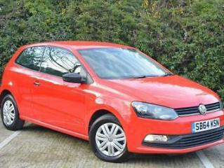 2014 Volkswagen Polo 1.0 BlueMotion Tech S s/s 3dr
