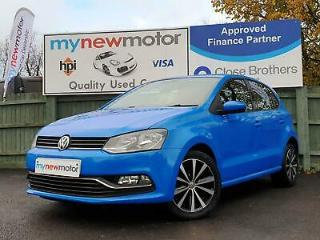 2014 Volkswagen Polo 1.2 TSI BlueMotion Tech SE DSG s/s 5dr