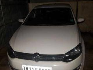 White 2014 Volkswagen Polo Highline1.2L P 58,000 kms driven in Padappai