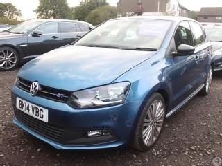 Volkswagen Polo 1.4 TSI 140 ACT BlueGT 5dr Hatchback 2014, 22454 miles, £10599
