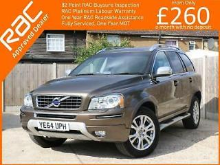 2014 Volvo XC90 2.4 SE LUX D5 AWD AUTO 5dr Rear Parking Sensors Full Leather Hea