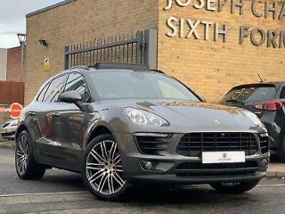 2015/64 Porsche Macan 3.0TD V6 258bhp AWD PDK S PAN/ROOF+REAR ENTERTAINMENT