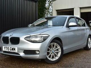 2015 15 BMW 116 1.6TD Efficient Dynamics Business 5dr, Diesel, 1 Company Owner