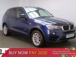 2015 15 BMW X3 2.0 XDRIVE20D SE 5DR SAT NAV HEATED LEATHER 1 OWNER 188 BHP DIESE
