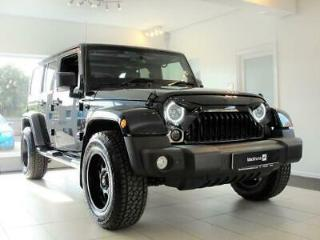 2015 15 JEEP WRANGLER 2.8 CRD OVERLAND UNLIMITED 4D AUTO 197 BHP. FULLY LOADED