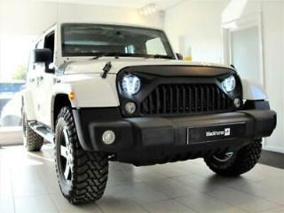 2015 15 JEEP WRANGLER 2.8 SAHARA UNLIMITED CRD 4D AUTO 197 BHP, FULLY LOADED, JE