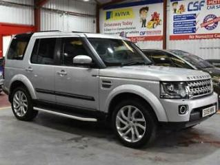 2015 15 LAND ROVER DISCOVERY 3.0 SDV6 HSE 5D AUTO 255 BHP DIESEL