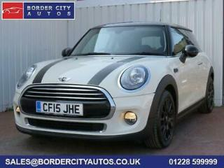 2015 15 MINI HATCH COOPER 1.5 COOPER D 3D 114 BHP DIESEL MANUAL WHITE CHEAP TAX