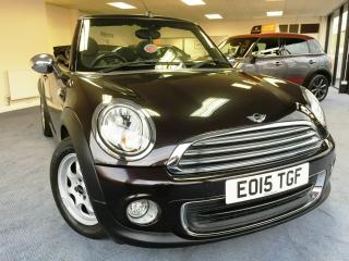 2015 15 MINI ONE CONVERTIBLE PEPPER PACK