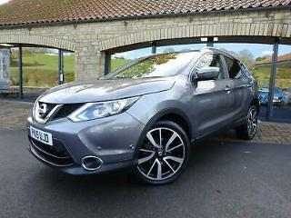 2015 15 Nissan Qashqai 1.6dCi XTRONIC Tekna SAT NAV, HEATED LEATHER, AUTO