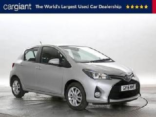 2015 15 Reg Toyota Yaris 1.0 Icon Silver 5 STANDARD PETROL MANUAL