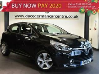 2015 15 RENAULT CLIO 0.9 DYNAMIQUE MEDIANAV ENERGY TCE S/S 5DR 90 BHP
