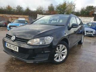 2015 15 VOLKSWAGEN GOLF 1.6 SE TDI BLUEMOTION TECHNOLOGY DSG 5D 103 BHP DIESEL