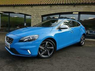 2015 15 Volvo V40 2.0TD D2 Geartronic R Design Lux AUTOMATIC, £20 ROAD TAX