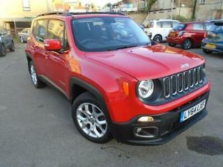 2015 64 JEEP RENEGADE 1.4 LONGITUDE 5D 138 BHP