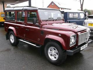 2015 64 Land Rover 110 Defender 2.2 TDCi 2015MY XS Station Wagon