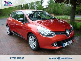 2015 64 RENAULT CLIO 0.9 DYNAMIQUE MEDIANAV ENERGY TCE ECO2 S/S 5D 90 BHP