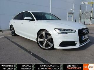 2015 65 AUDI A6 TDi 190 S Line Black Edition Ultra S Tronic *TECH PACK * White