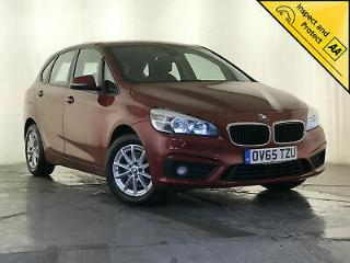 2015 65 BMW 218D SE ACTIVE TOURER COLLISION WARNING NAV 1 OWNER SVC HISTORY