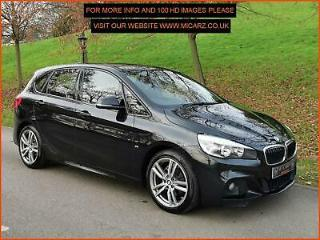 2015 65 BMW 2 SERIES 218D M SPORT ACTIVE TOURER FULL BMW SERVICE HISTORY