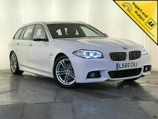 2015 65 BMW 520D M SPORT AUTO ESTATE NAV HEATED SEATS 1 OWNER SERVICE HISTORY