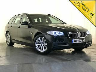 2015 65 BMW 520D SE AUTOMATIC HEATED SEATS CREAM LEATHER 1 OWNER SERVICE HISTORY